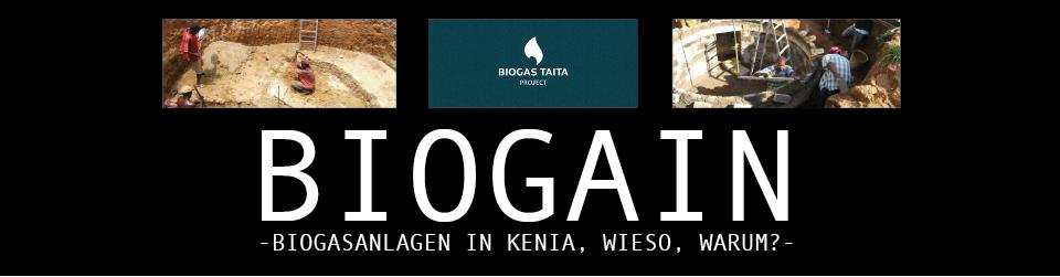 BIOGAIN - Biogasanlagen in Kenia, wieso, warum?