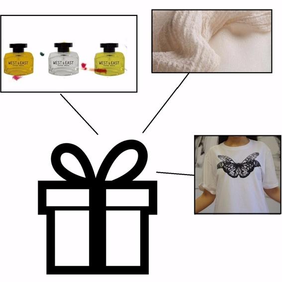 Geschenk Kiste (3x Duft, T-Shirt & Tuch)