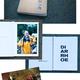DAS GEDRUCKTE BUCH + geile Gedicht-Postkarte