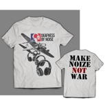 "DEAFNESS BY NOISE ""Make music not war"""