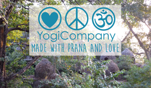"YogiCompany  ""Made with Prana and Love"""