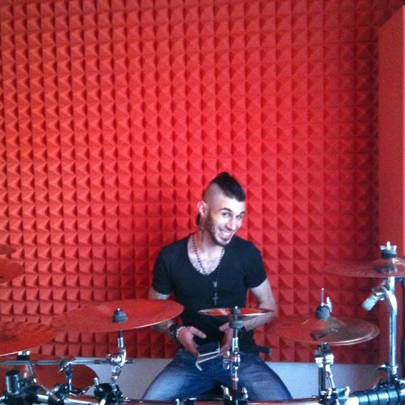 Song-Recording bei Dennis