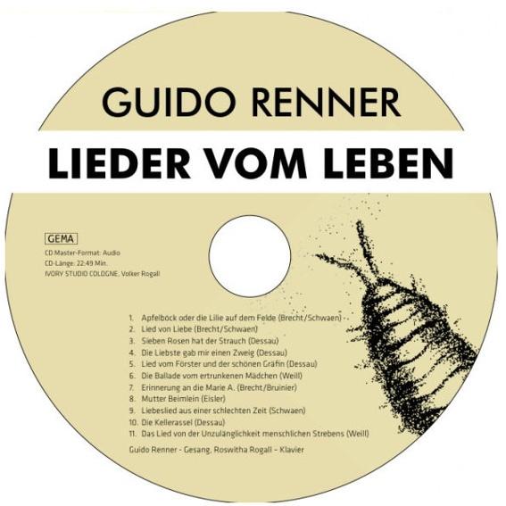 Buch und Guido-Renner-CD