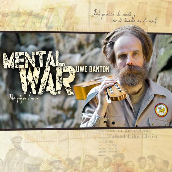 Uwe Banton - Mental War - Album mit persönlicher Widmung