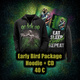 Early Bird: Hoodie + Live CD + Poster zum Packagepreis