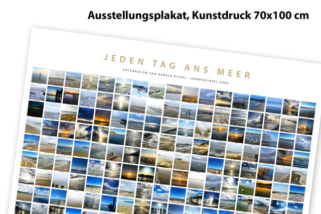 """Die Fotoausstellung auf Föhr """"Jeden Tag ans Meer"""""""