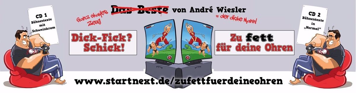 Zu fett für deine Ohren! Best-of-CDs André Wiesler