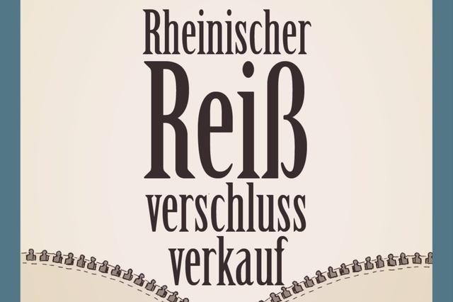 Rheinischer Reißverschlussverkauf