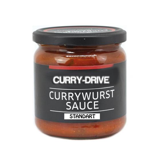 500ml Currywurstsoße Curry-Drive Standart
