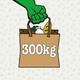 300 kg Lebensmittel retten