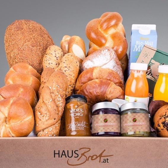 Frühstück frisch geliefert: Familien & WGs (in Wien)