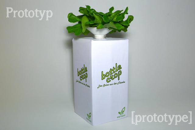 BottleCrop - The lettuce on a bottle