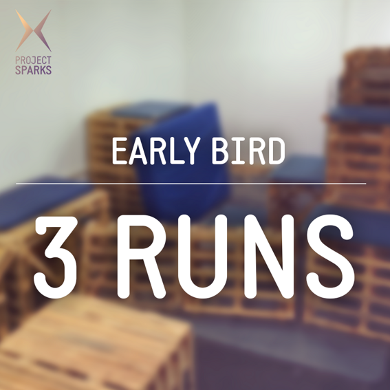3 Runs + Training - Early Bird