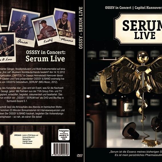 "DVD ""Osssy SERUM Live"""