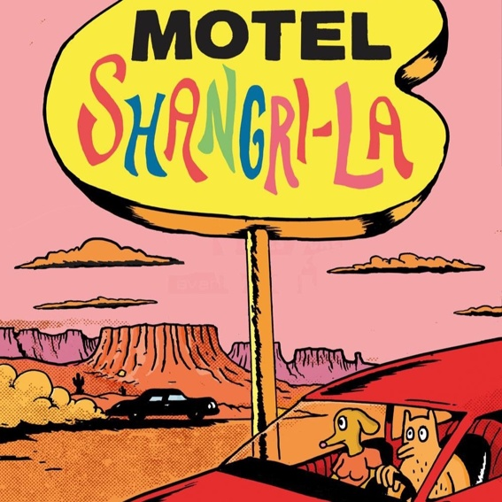 James Turek: Motel Shangri-La (signiert) + weiterer Comic