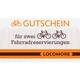Voucher for 2 bike tickets
