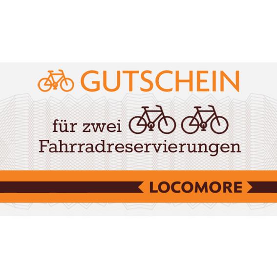 Fahrradmitnahmegutschein (für 2 Reservierungen)