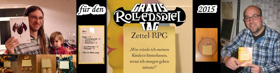 Zettel-RPG auf den Gratisrollenspieltag 2015