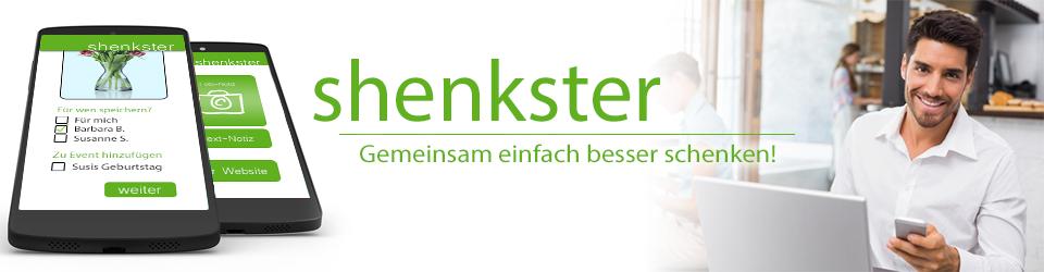 shenkster - Gemeinsam einfach besser schenken