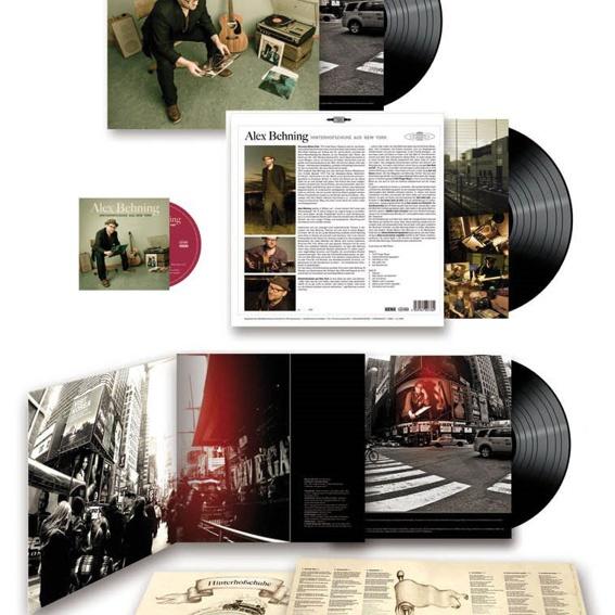 Alex Behning - LP & CD Hinterhofschuhe aus New York - ADVENT-SPECIAL (4x handsigniert)