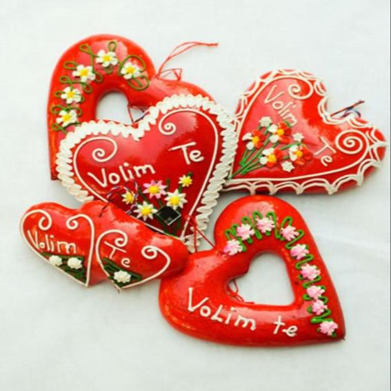 Das hübsch verpackte Licitar-Herz