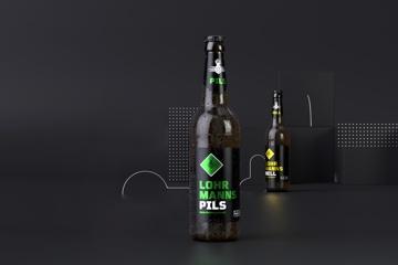 Lohrmanns - Bau der Uni-Brauerei in Dresdens Mitte