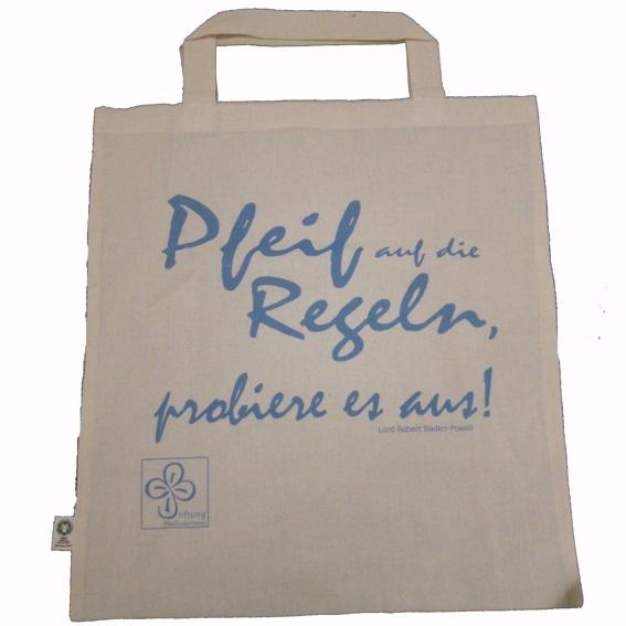 Stofftasche der Stiftung Pfadfinderinnen