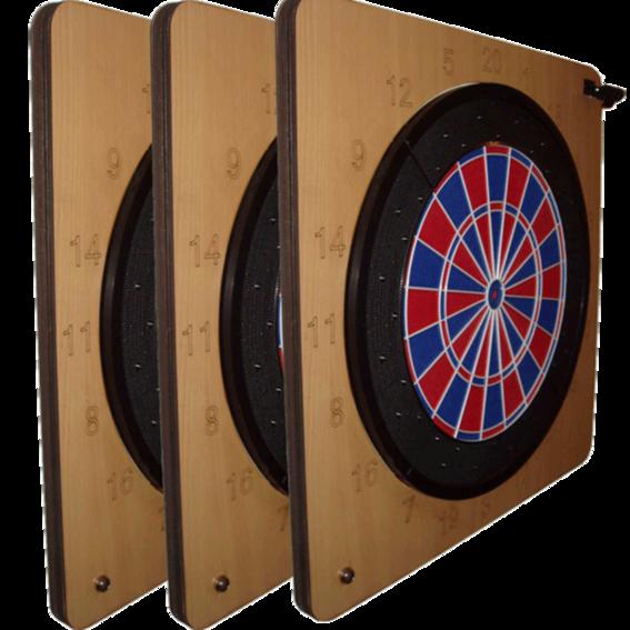 Triple in (drei Boards)