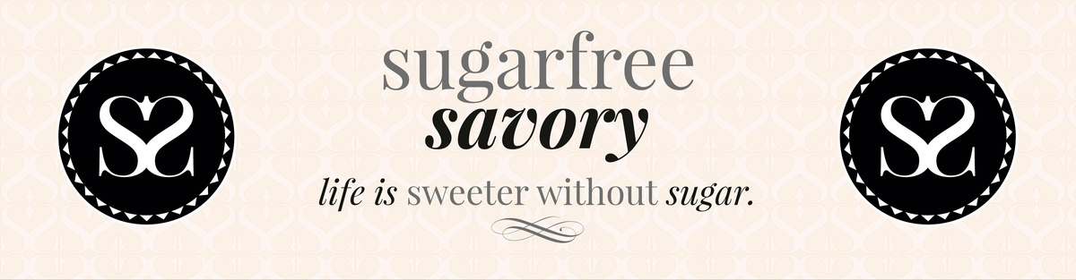 sugarfree savory - life is sweeter without sugar