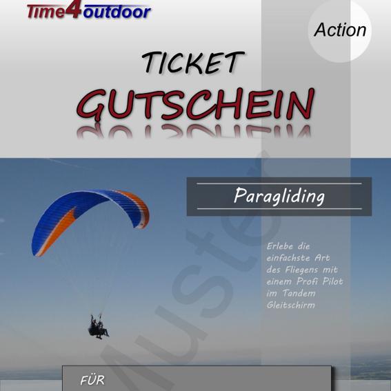 Gutschein Tandemflug Chiemgau