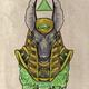 Druck Anubis