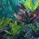 Original Ölbild: Tropical Garden
