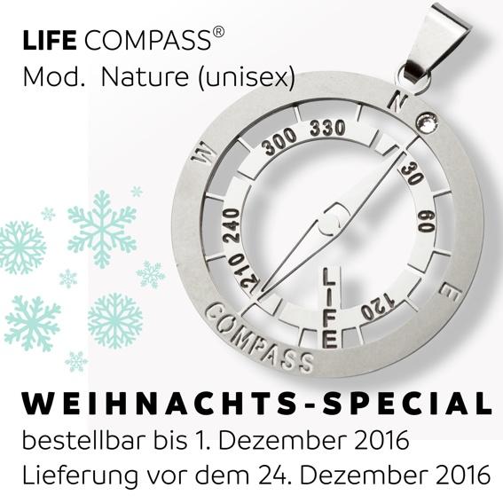 LIFE COMPASS nature / Weihnachtsgeschenk