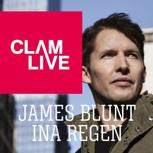 Ticket für JAMES BLUNT/INA REGEN auf der Burg Clam + 1 Print-Guide
