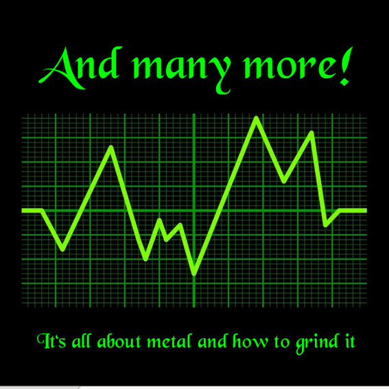 Album - It's all about metal and how to grind it   inkl. Versand