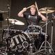 Schlagzeugfelle von Studio- und Liveauftritten mit Unterschriften