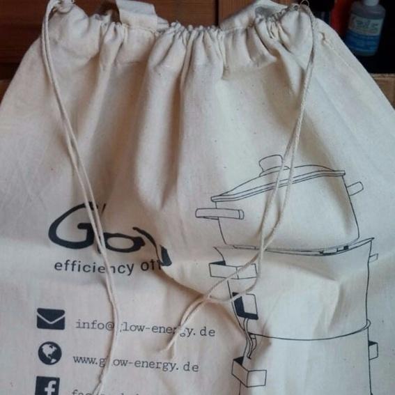 Promoter Bag – Streichhölzer / Stoffbeutel mit Kordelzug