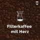 Filterkaffee mit Herz