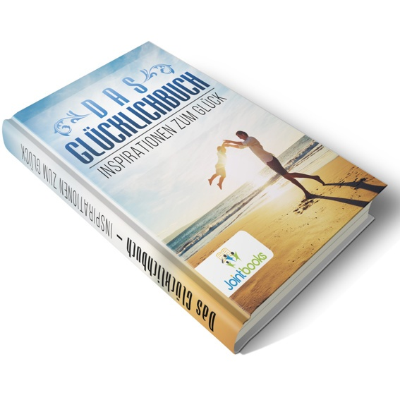 """Ein Buch """"Das Glücklichbuch - Inspirationen zum Glück"""""""