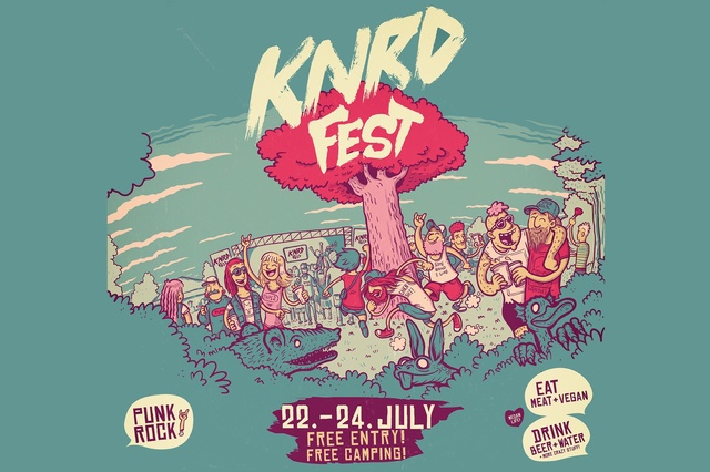 KNRD Fest 2016 - free entry // free camping