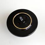 Vergoldeter Schalter aus dem Ballsaal