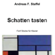 Bound score of the piano cycle' Schatten tasten' with dedication