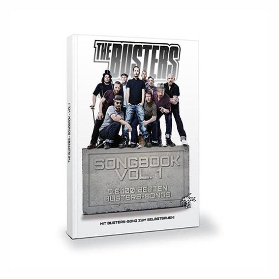 The Busters - Songbook von allen signiert