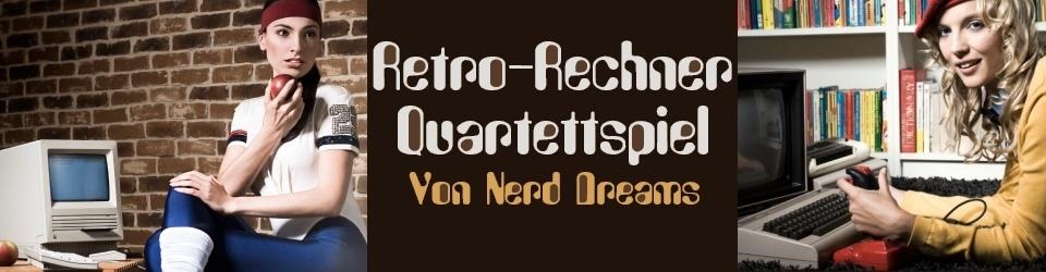 Retro-Rechner Quartett-Spiel von Nerd Dreams
