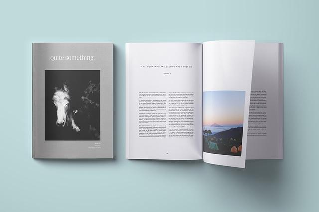 quite something Magazin – Endorphine auf Papier