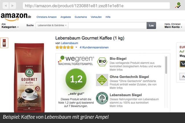 WeGreen - Grüner Einkaufen in den größten Onlineshops