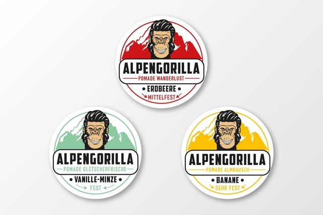 Alpengorilla Pomade! Haarpflege für echte Kerle!