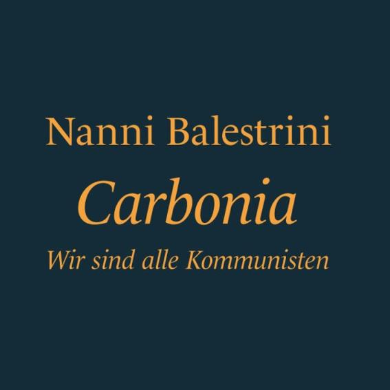 Buch: Carbonia - Wir sind alle Kommunisten