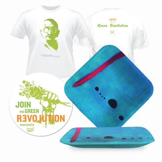 Der Kunstteller + T-Shirt + Sticker