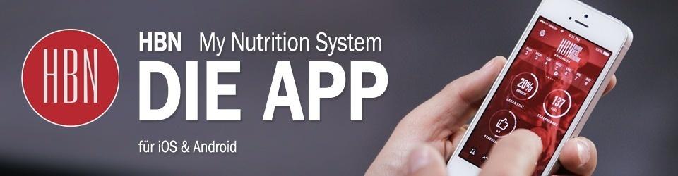 HBN - My Nutrition System - Die App